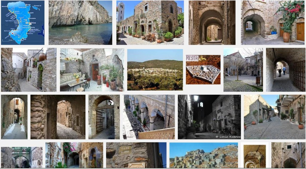 A picture of Mesta, Chios