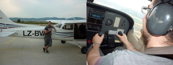 Ivan Dikov flying