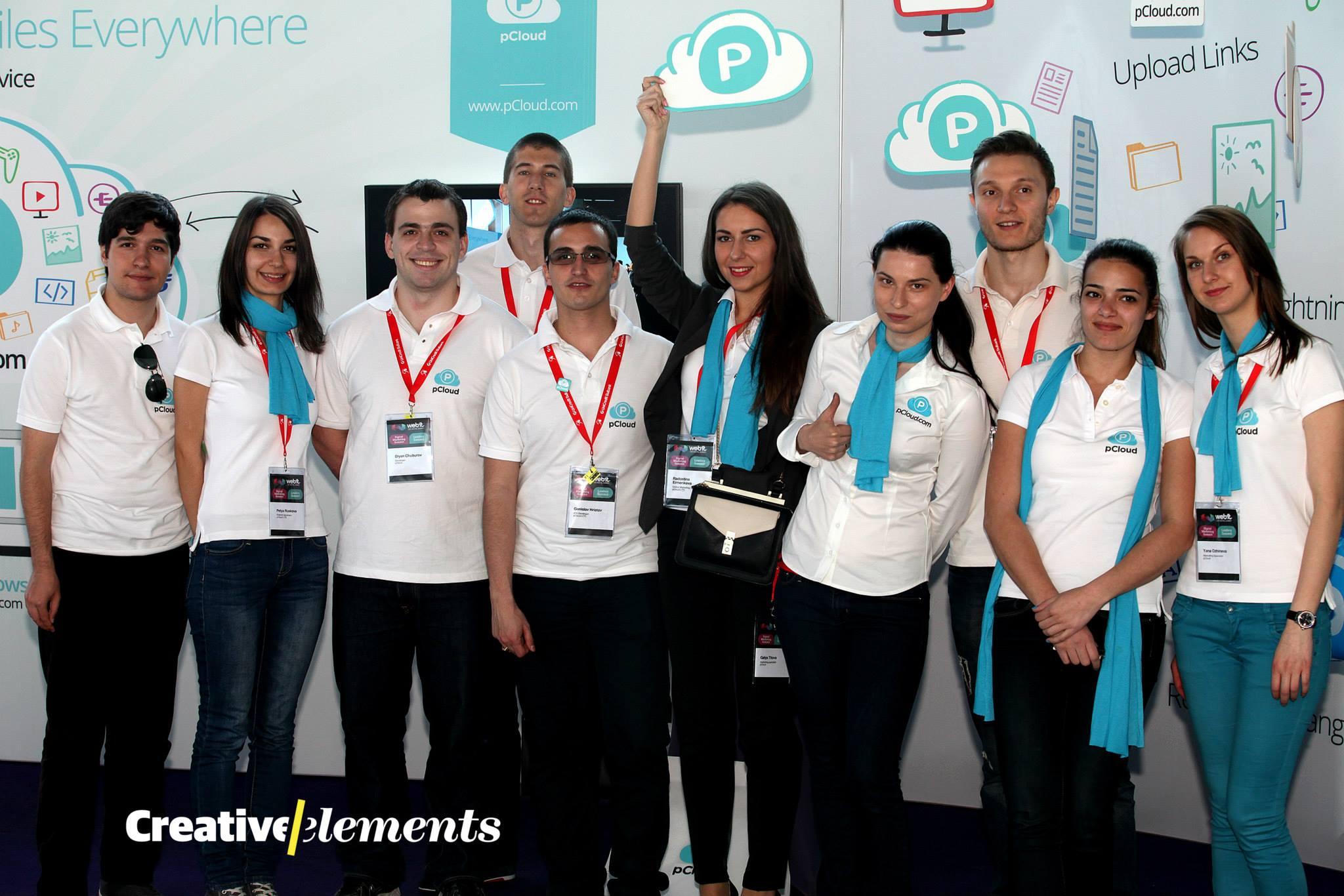 pCloud's team