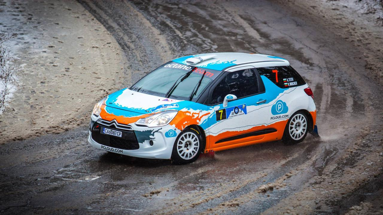 Octane Rally Team, driver Anton Titov, CTO of pCloud